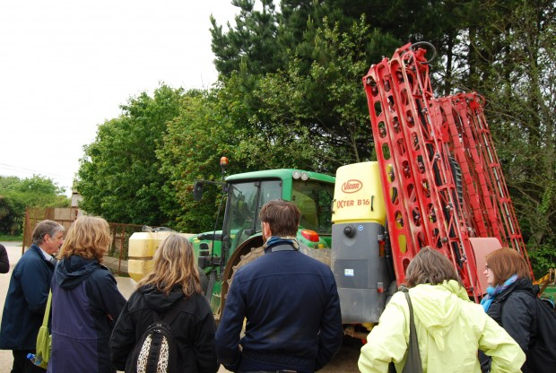 Modern agricultural machinery